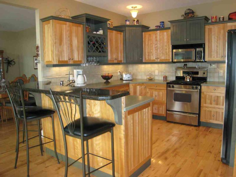 U Shaped Kitchen Island Floor Plan