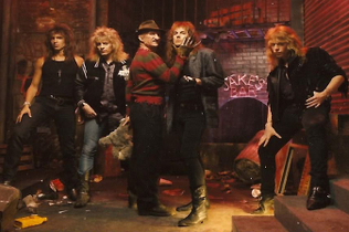 Dokken and Freddy Krueger