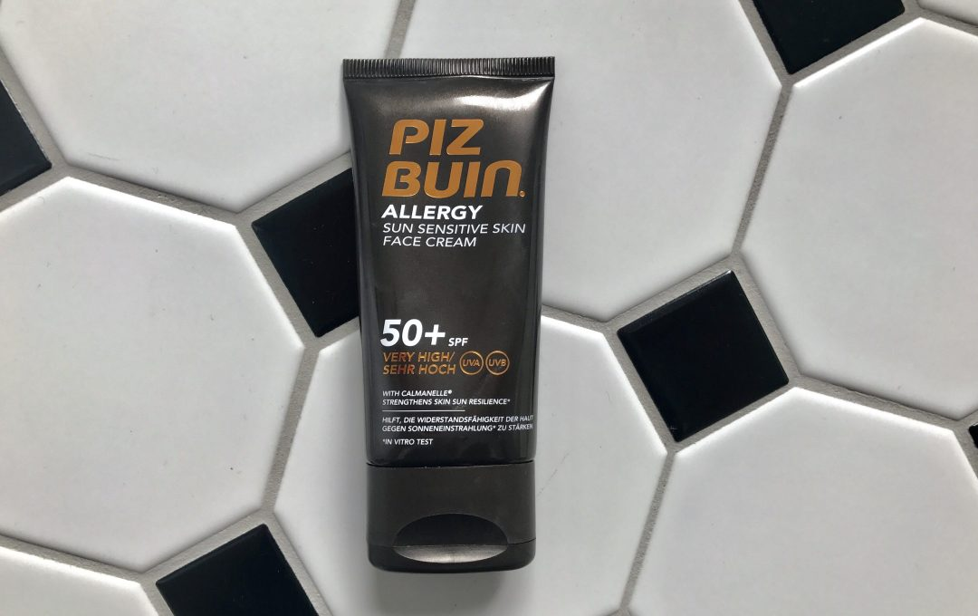 Piz Buin Allergy Face Cream SPF50
