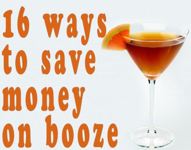 Save Money on Booze