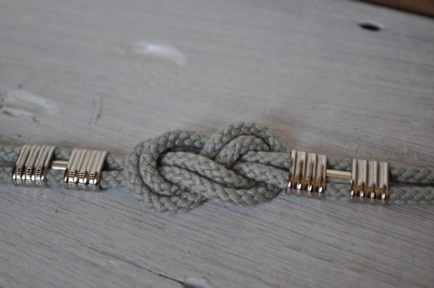 Knotted Bracelet DIY