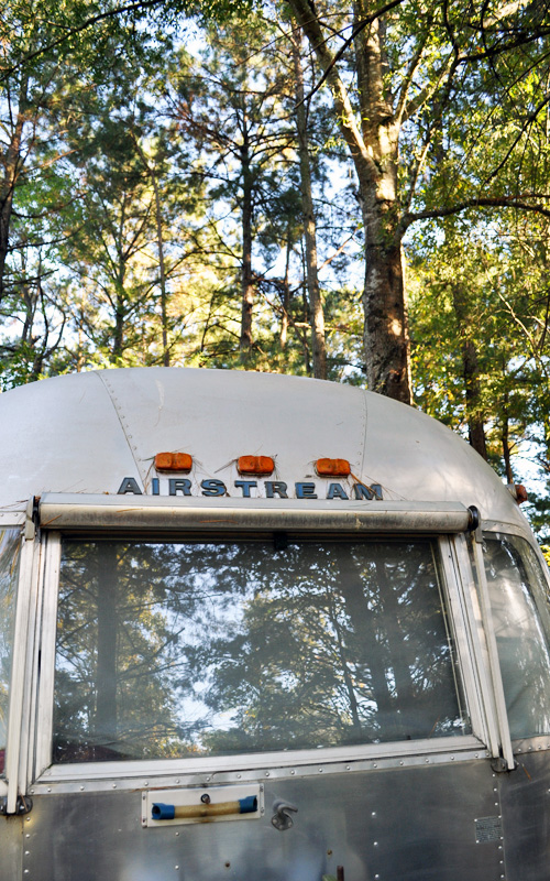 Airstream front in the fall