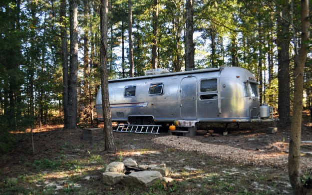 airstream in the fall