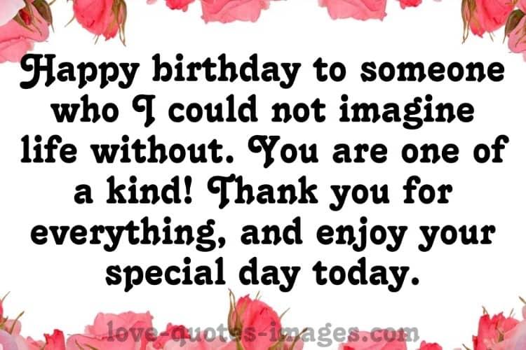 Sending Birthday Wishes