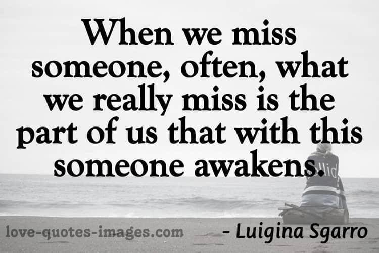missing someone status