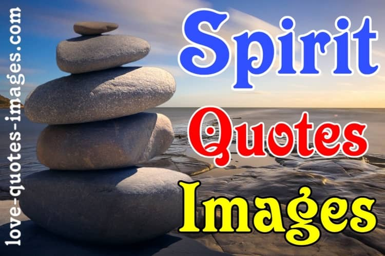 Spirit Quotes Images