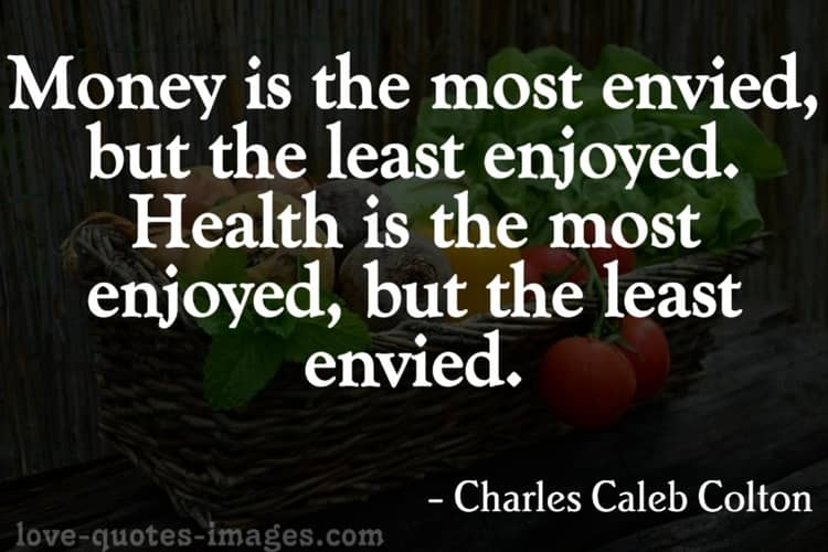 health is your wealth