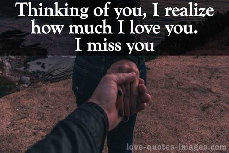 Miss You Status for Lovers