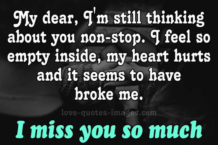 miss you status