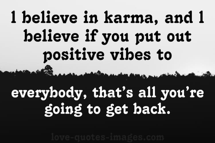 believer of karma