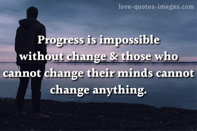 quotes about people changing