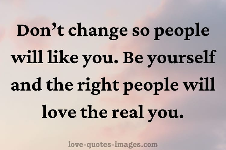 to be yourself quotes