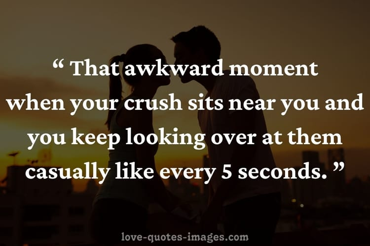 a crush quotes