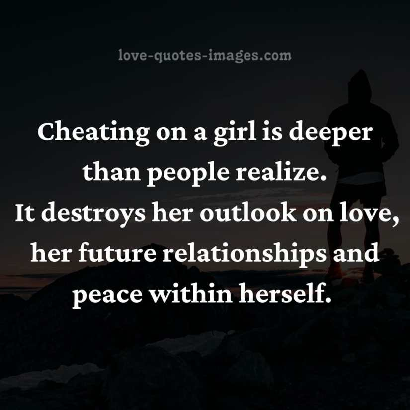men cheating quotes