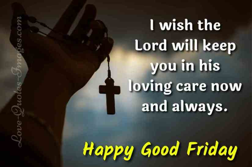 good friday message