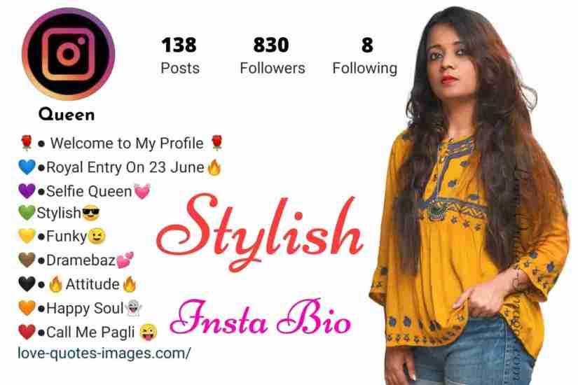 best attitude bio for instagram