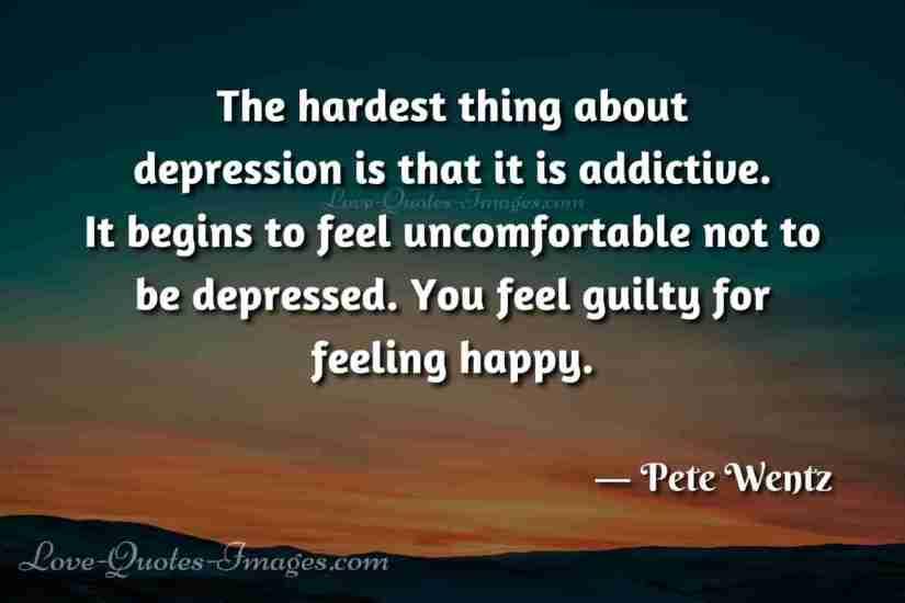 deep dark depression quotes