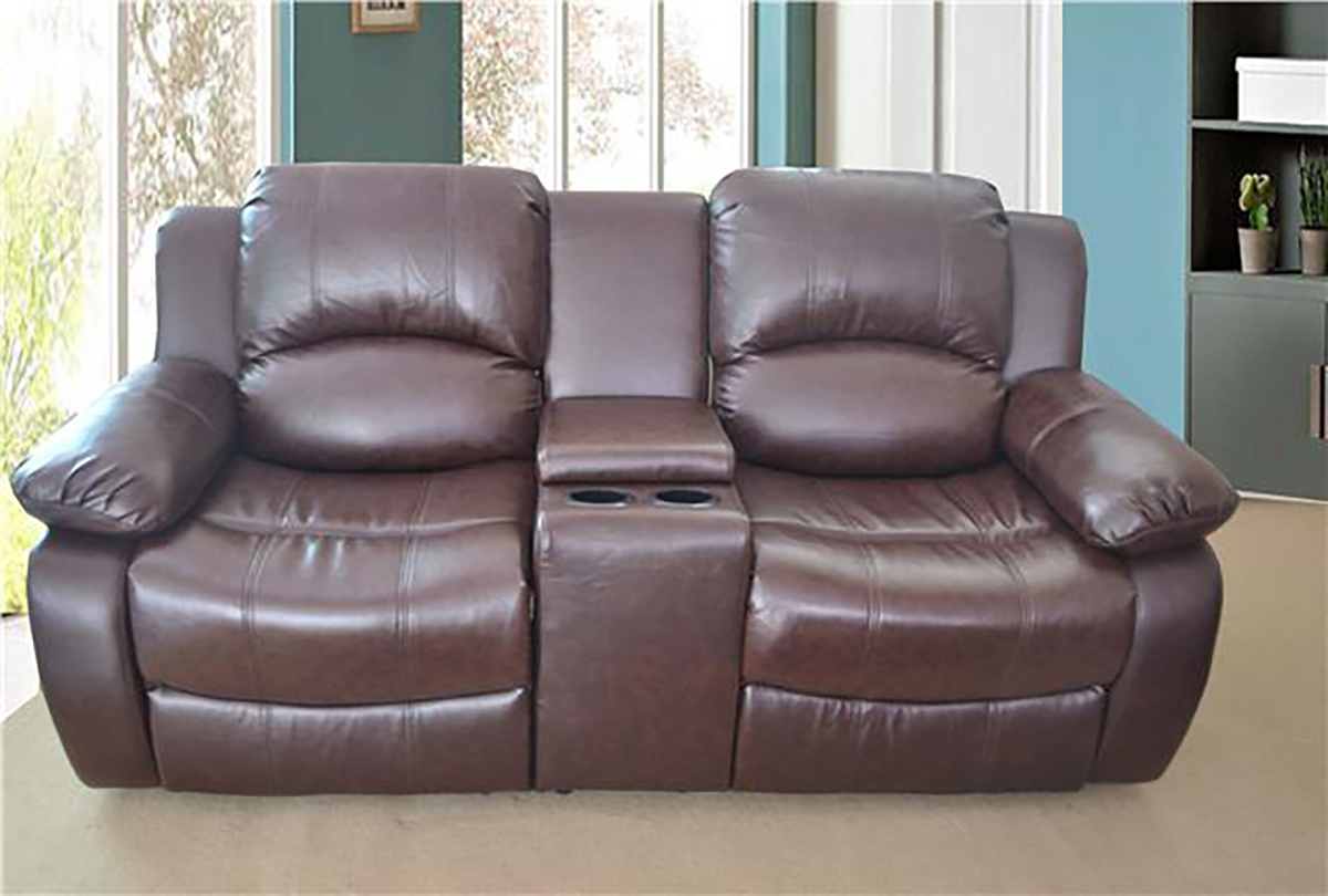 valencia black recliner leather sofa futura italy bed lazyboy electric 2 seater bonded