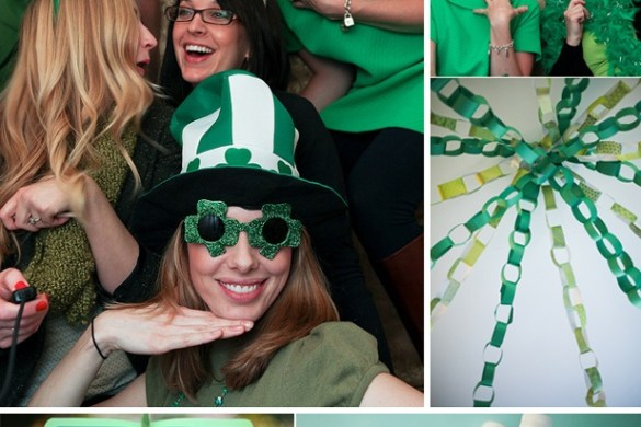 St. Patrick's Day Party Ideas by Love The Day