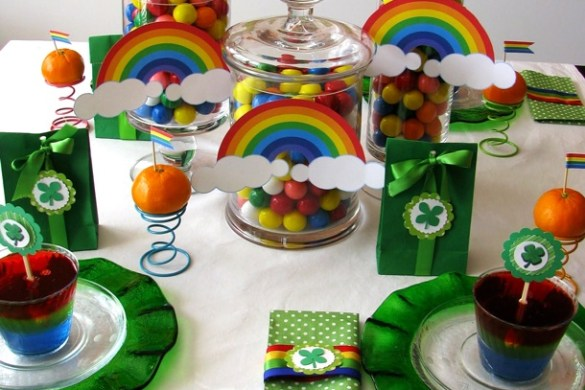 St. Patrick's Day Party Feature on Love The Day