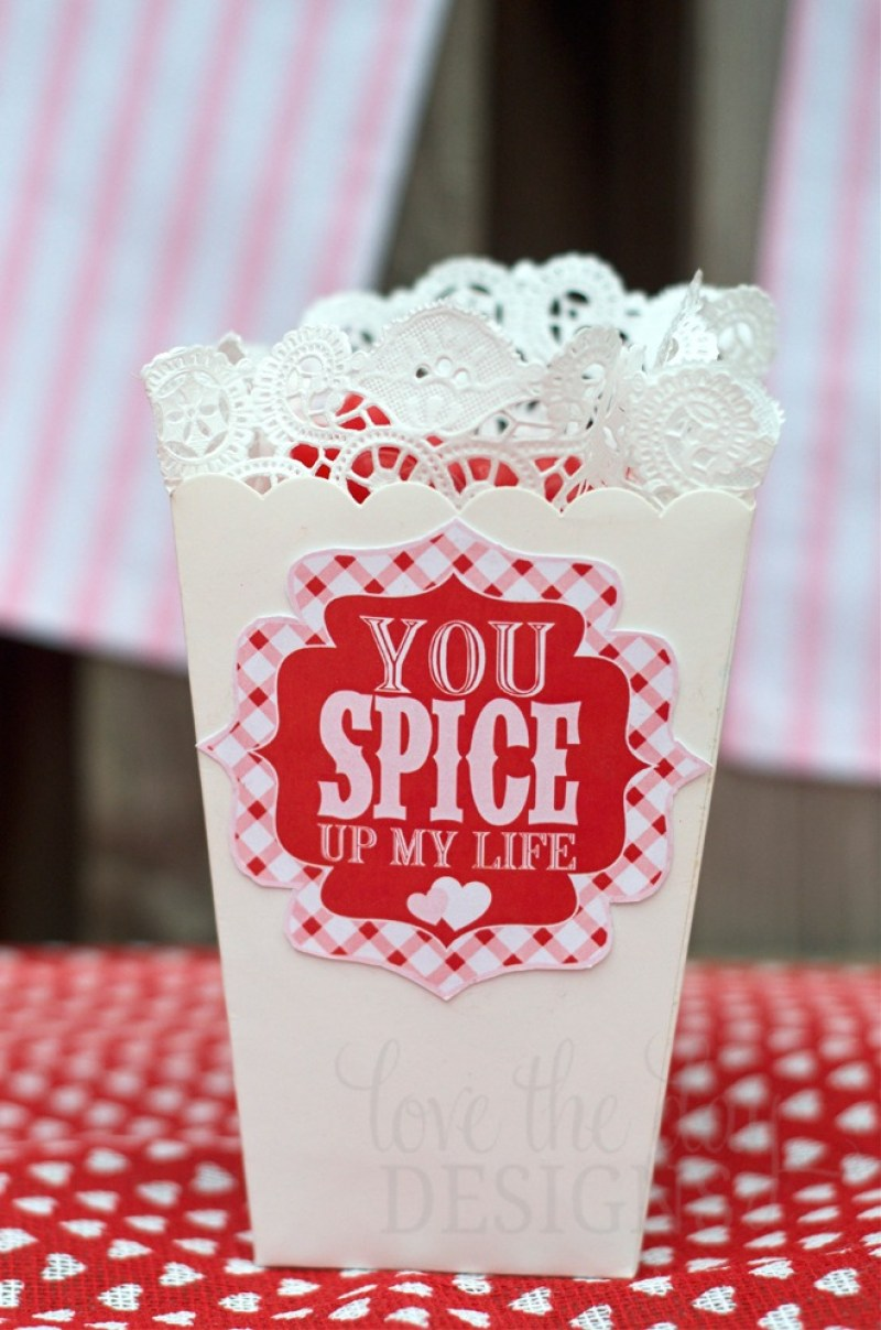 'You Spice Up My Life' DIY Valentine Gift by Love The Day