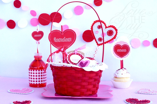 Love Note Valentine Party Ideas by Love The Day