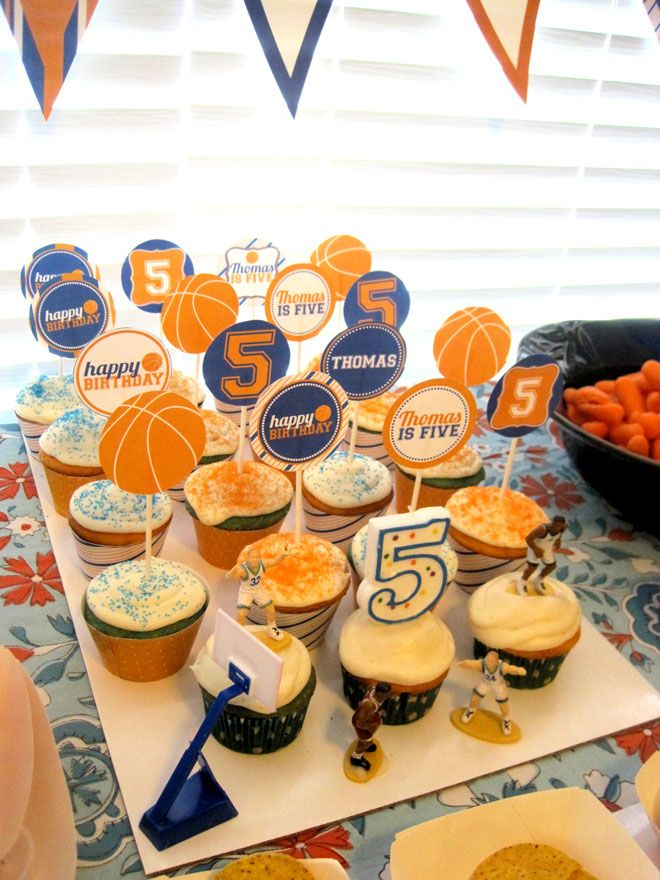 Basketball Birthday Party Feature on Love The Day