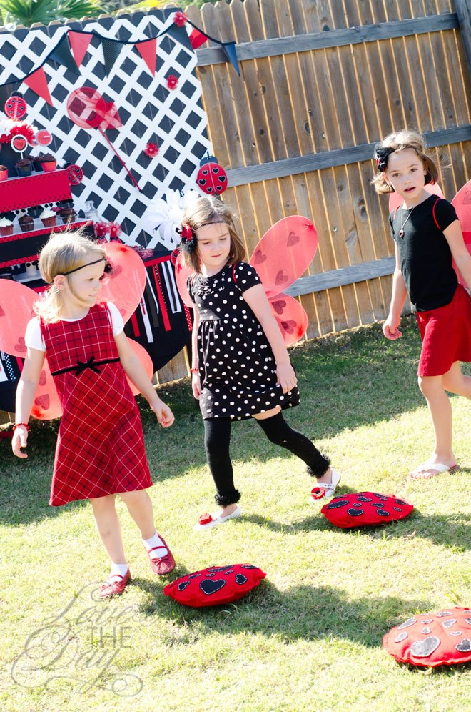 Ladybug Party Games by Love The Day