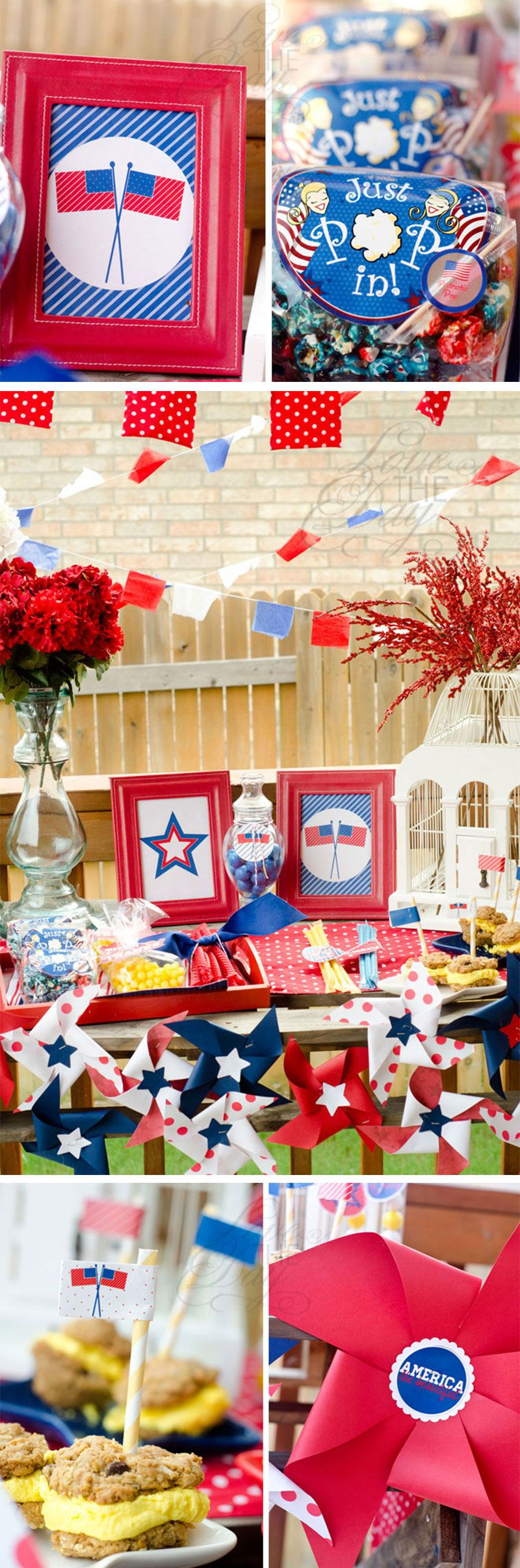 4th of July Party Ideas by Lindi Haws of Love The Day
