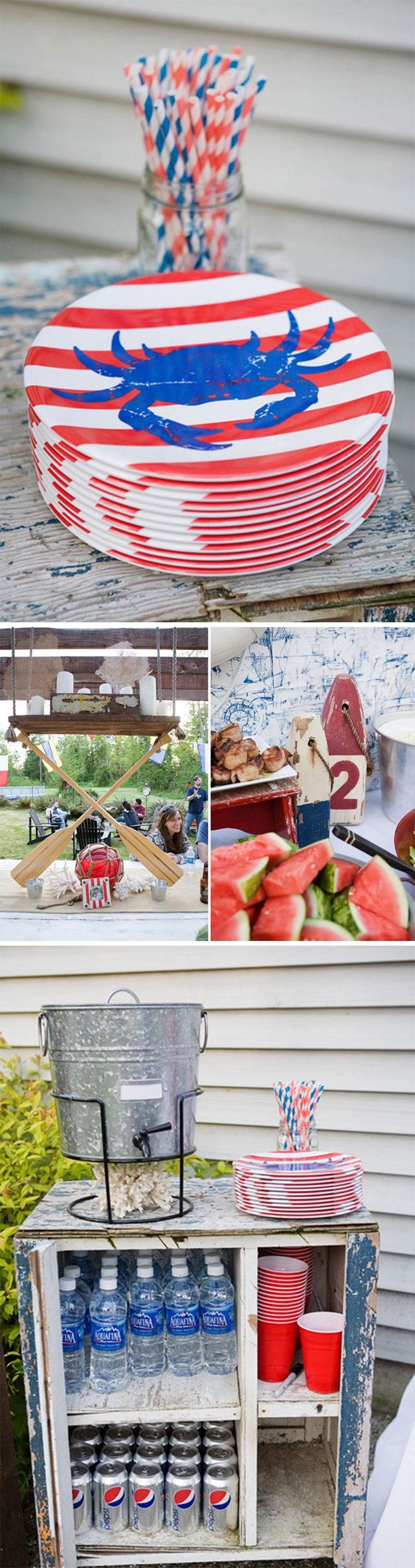 Crab Boil Party Ideas on Love The Day