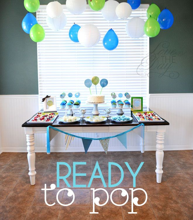 Ready To Pop Baby Shower by Love The Day