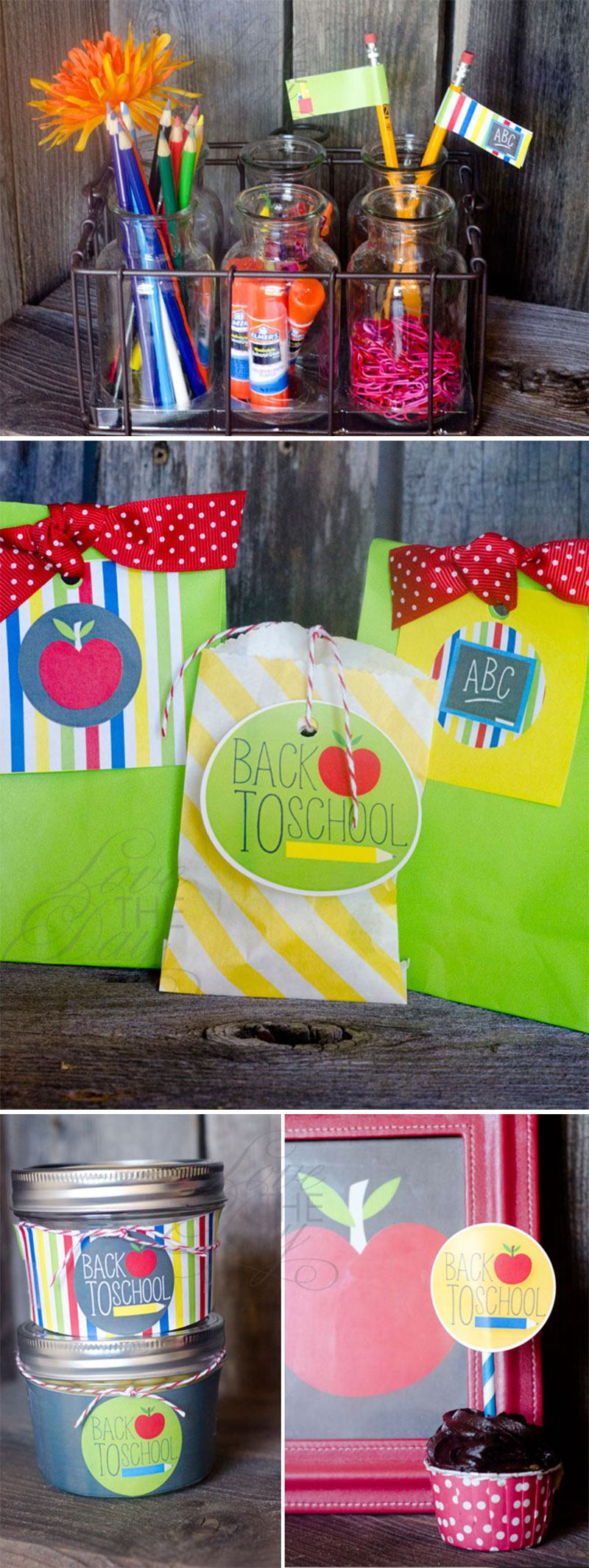 Back To School Party Ideas by Lindi Haws of Love The Day