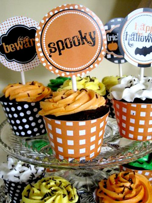 Traditional Halloween Printable Party:: Customer Party on Love The Day
