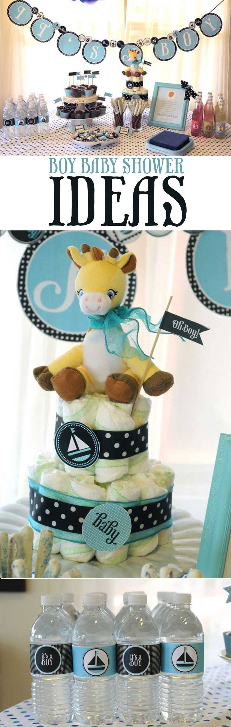 Boy Baby Shower Ideas on Love The Day