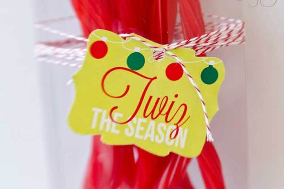'Twiz The Season' Neighbor Gift Tags by Love The Day