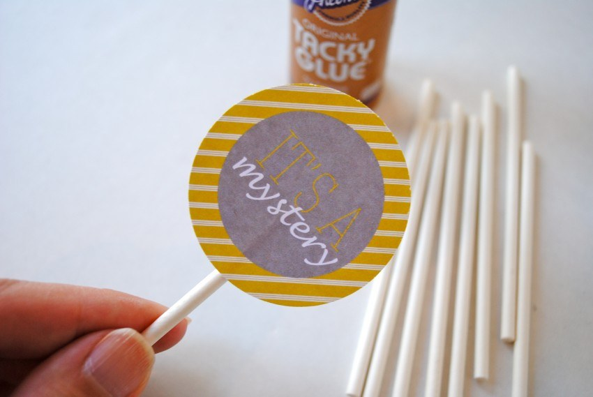 How to Assemble Cupcake Toppers