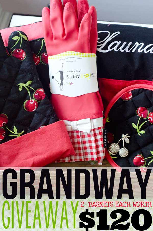 Grandway GIVEAWAY- Enter to Win a Basket worth $120