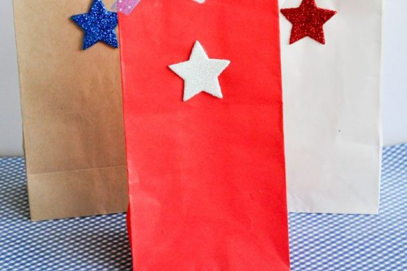 4th of July Favor Bags by Love The Day