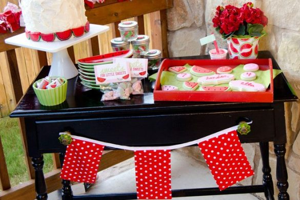 Watermelon Dessert Table by Love The Day