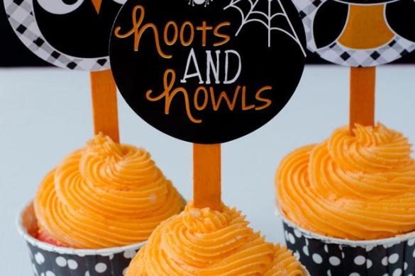 Owl Halloween Printable Party by Love The Day