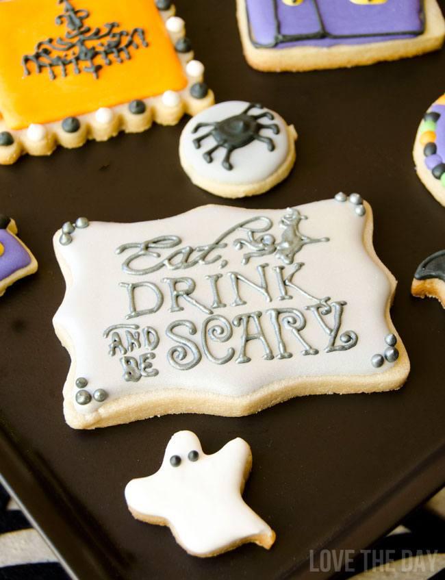 Halloween Sugar Cookies by The Sugar Fairy