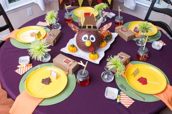 Thanksgiving Dessert Table by Double Fun The Parties with Printables by Love The Day