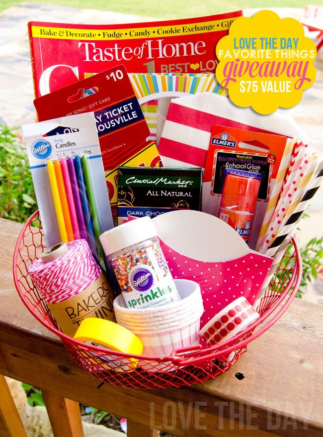 Love The Day Favorite Things GIVEAWAY:: Blog Hop