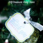 DIY Ornament FREE Holiday Party Favor by Love The Day