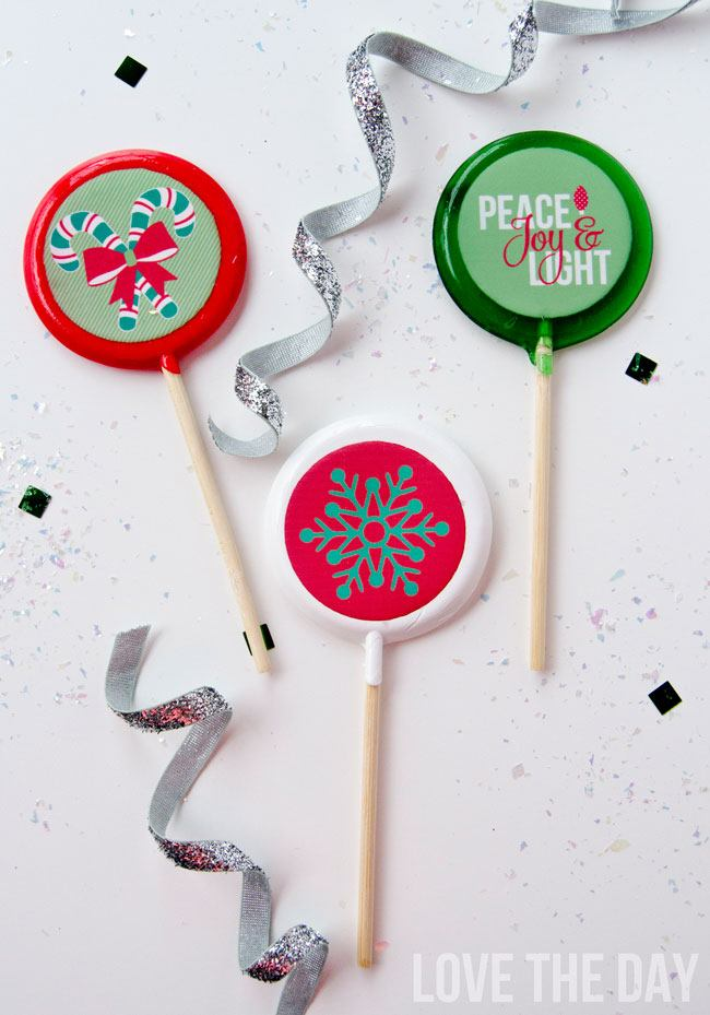 NEW PARTY TREND! Lollipics: fully edible photo-quality images on sweet lollipops!