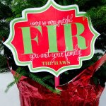 'So Thankful FIR You' FREE Christmas Neighbor Gift Printable by Love The Day