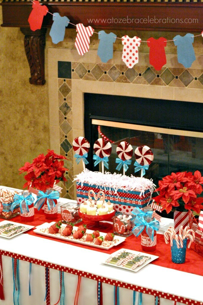 Peppermint Baby Shower Feature on Love The Day