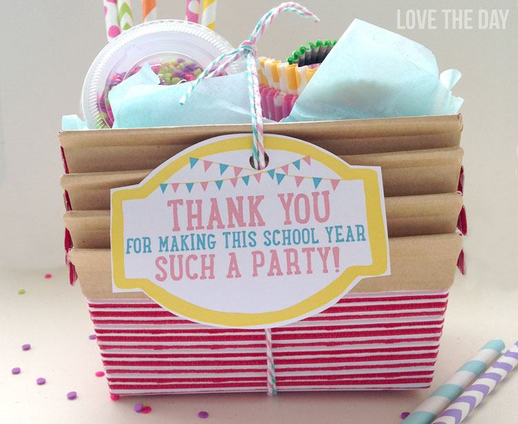 Free Printable Teacher Appreciation Tag by Love The Day
