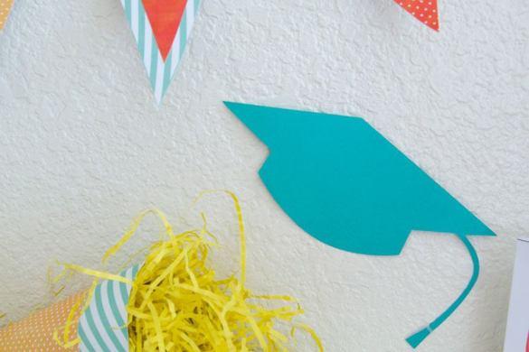 Graduation Cap Confetti by Love The Day