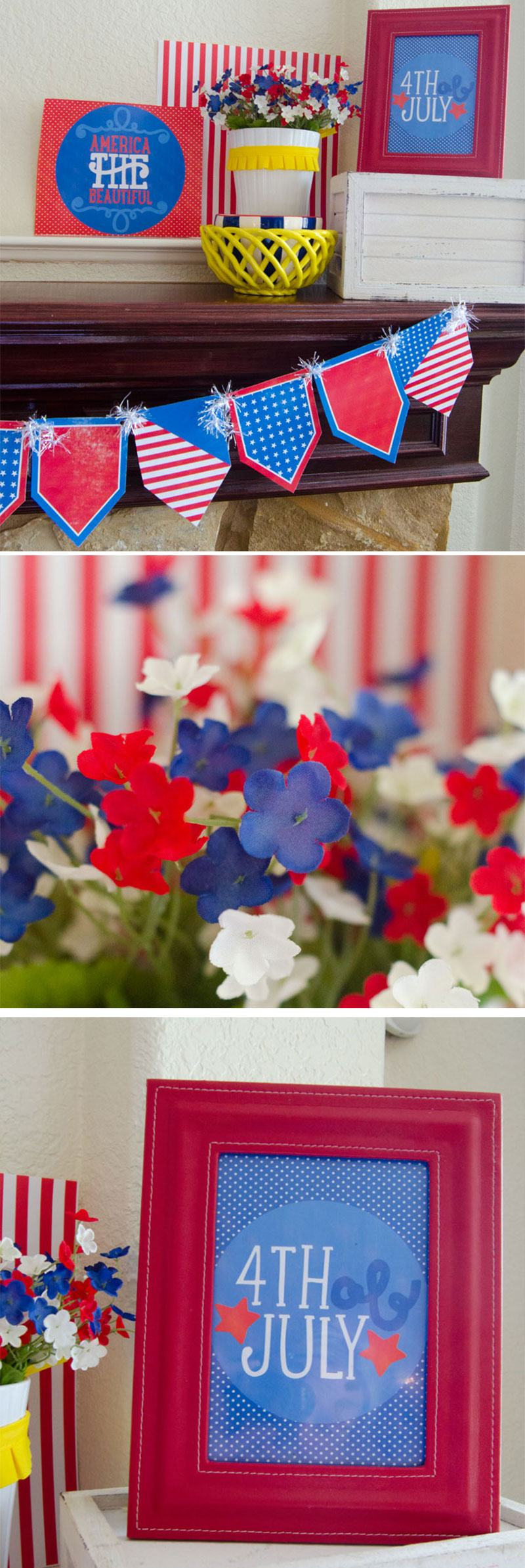 4th Of July Printables by Love The Day